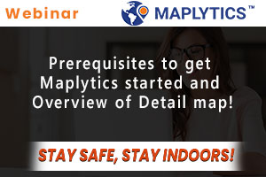 Prerequisites to get Maplytics started and Overview of Detail map