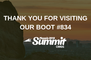 Inogic participated in CRMUG Summit as a Gold Sponsor- Phoenix, AZ