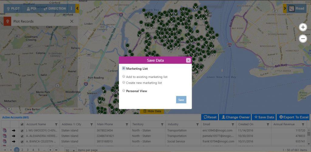 Map Microsoft Dynamics CRM