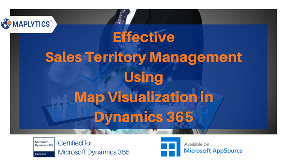 Dynamics CRM Mapping Sales Territories