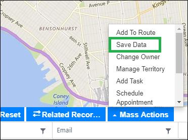 Dynamics CRM Data on Map