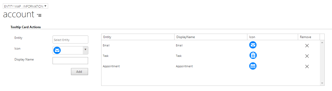 Tooltip Card Actions – Perform quick actions on a map within Dynamics CRM