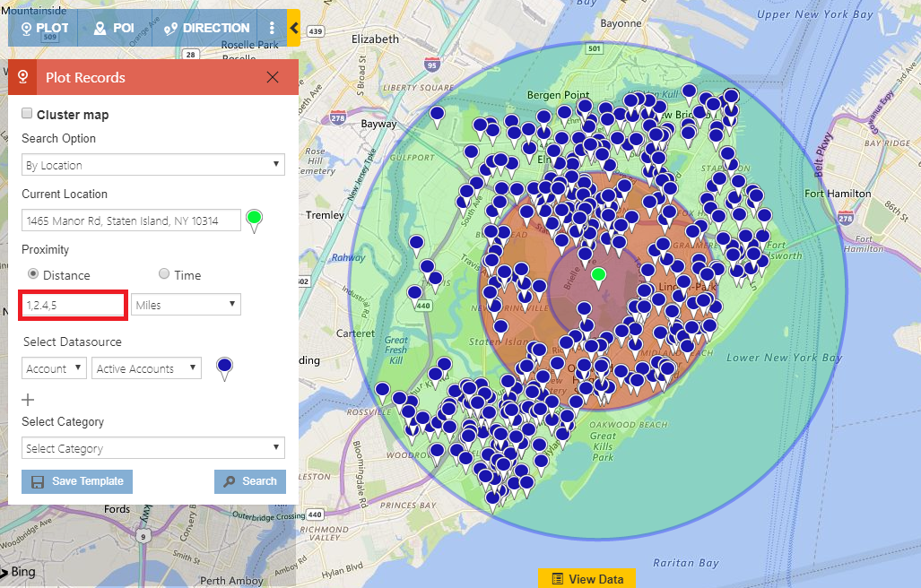 Find Nearby Customers in Multiple Proximities with Concentric Proximity Search in Dynamics 365