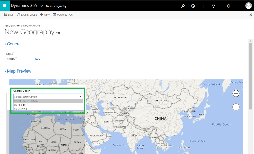 Improving Sales and Marketing with Geospatial-Intelligence within Dynamics 365