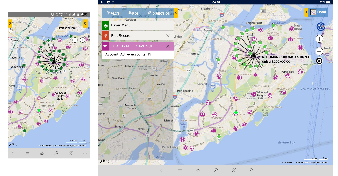 Map Clustering enhancements for better visualization of your Dynamics 365 CRM Data