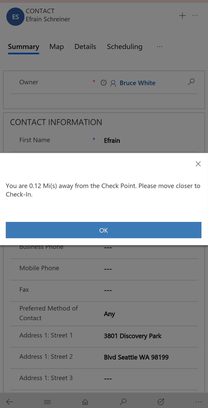 realtime Check-in and Check-Out