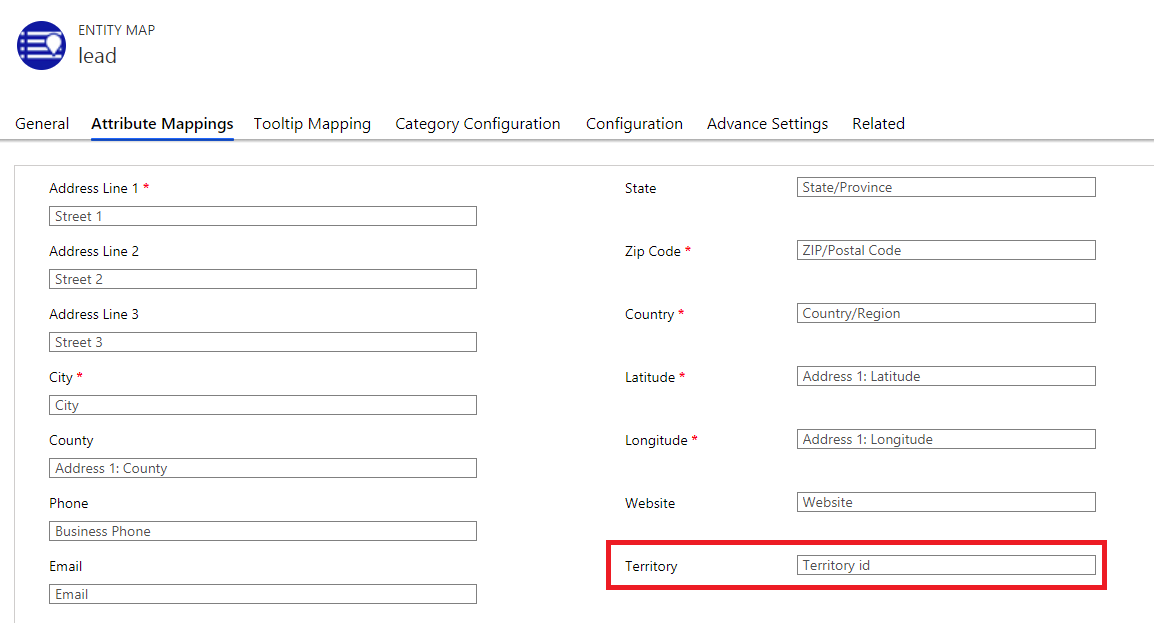 Territory assignment to multiple Dynamics 365 CRM records