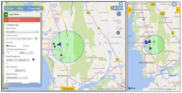 Search for data near your current GPS location within Dynamics 365 CRM