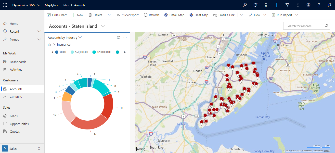Understand your target market within Dynamics CRM or PowerApps using PCF controls
