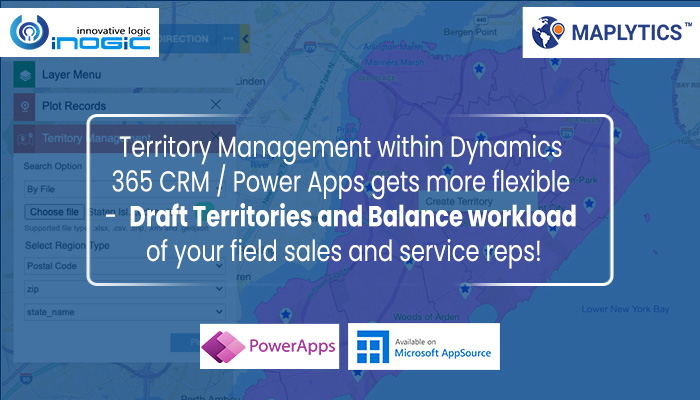 Draft Territories and Balance workload of your field sales and service reps