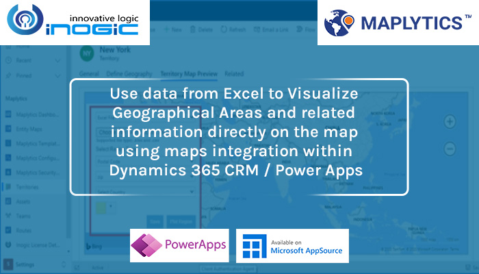 Use data from Excel to Visualize Geographical Areas