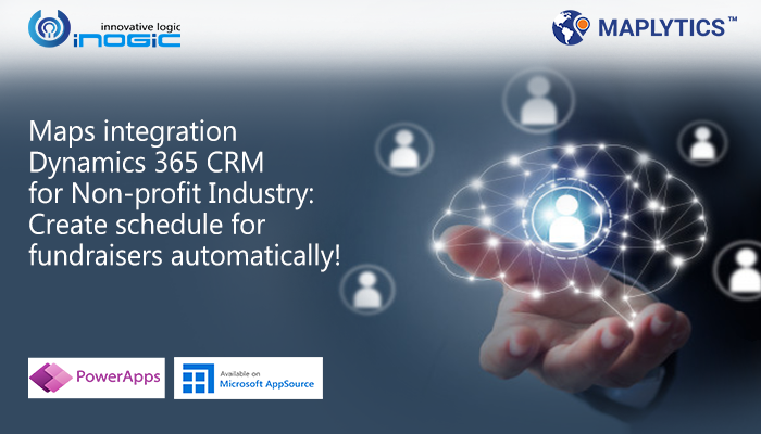 Maps integration within Dynamics 365 CRM for Non-profit Industry