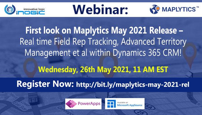 maplytics webinar may 2021 release