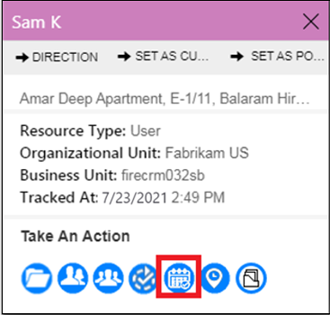 Track Real-Time location of Field Service Reps within Dynamics 365 using Maplytics!